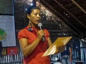 Presidente Ler a Carta para Prefeitos - Reivindicação do Movimento Indígena