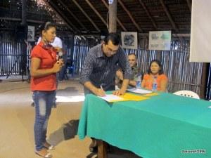 Prefeito Municipal de SGC René Coimbra recebe carta