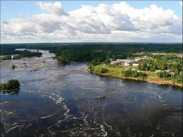Vista de Iauaretê, local do III Seminário Interno de Educação Escolar Indígena no Rio Negro.
