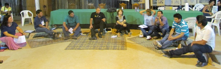 3a Roda de Conversa durante o Seminário Rio Negro de Educação Indígena.