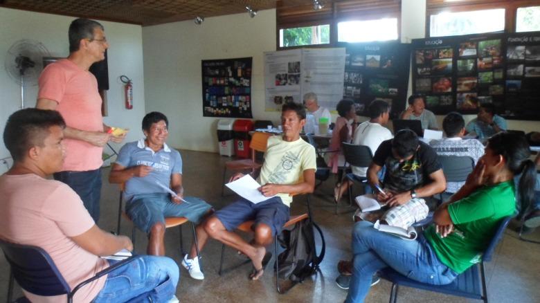 Participantes em Gts durante Seminário de Avaliação e Planejamento. Foto: SETCOM/FOIRN