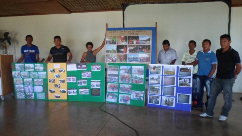 Coordenadores Regionais apresentam em paneis as principais realizações de 2014. Foto: SETCOM/FOIRN