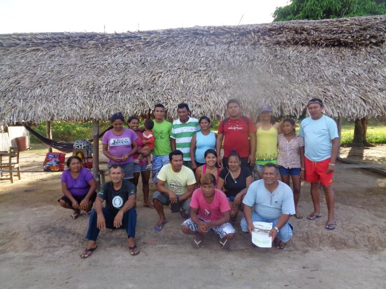 Comunidade Bacabal do Rio Aracá.