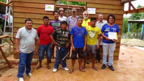 Diretores da FOIRN, participantes da oficina e instrutores da oficina. Foto: SETCOM/FOIRN