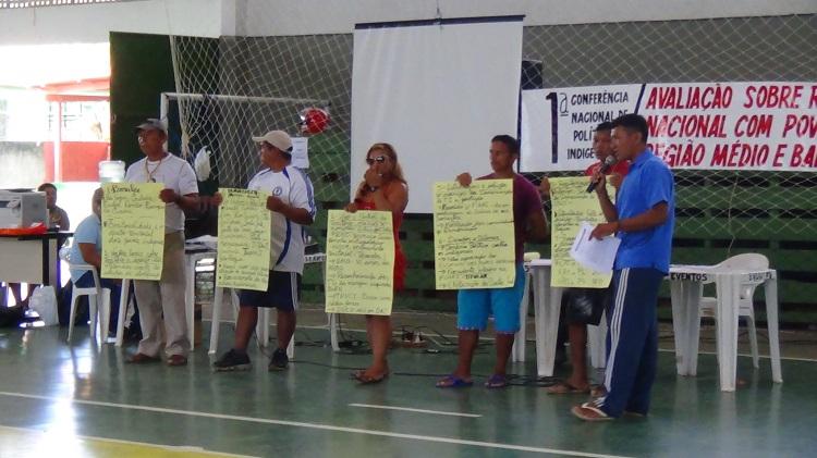 GTs apresentam propostas elaboradas durante a Conferência realizada em Santa Isabel do Rio Negro