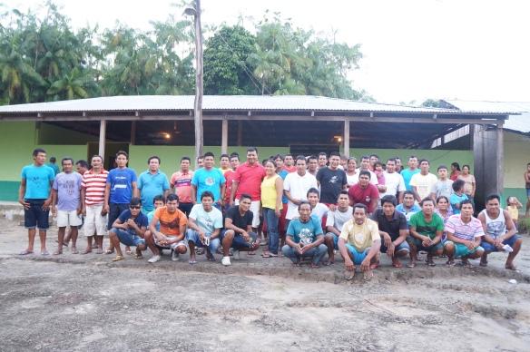 Participantes do evento realizado em Juruti - Alto Rio Negro. Foto: Ray Benjamim