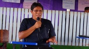 Isaias Pereira Fontes, vice presidente da FOIRN na assembleia da Unib. Foto: SETCOM/FOIRN