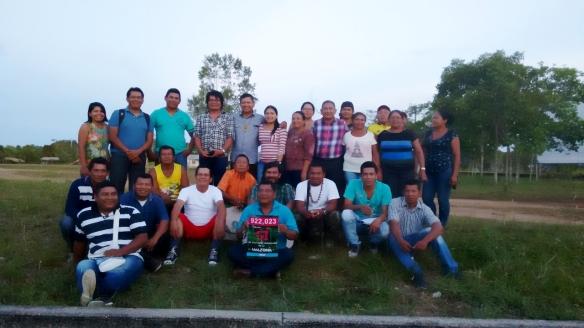 Participantes do Diálogo Intercultural dos Povos Indígenas da Amazônia.
