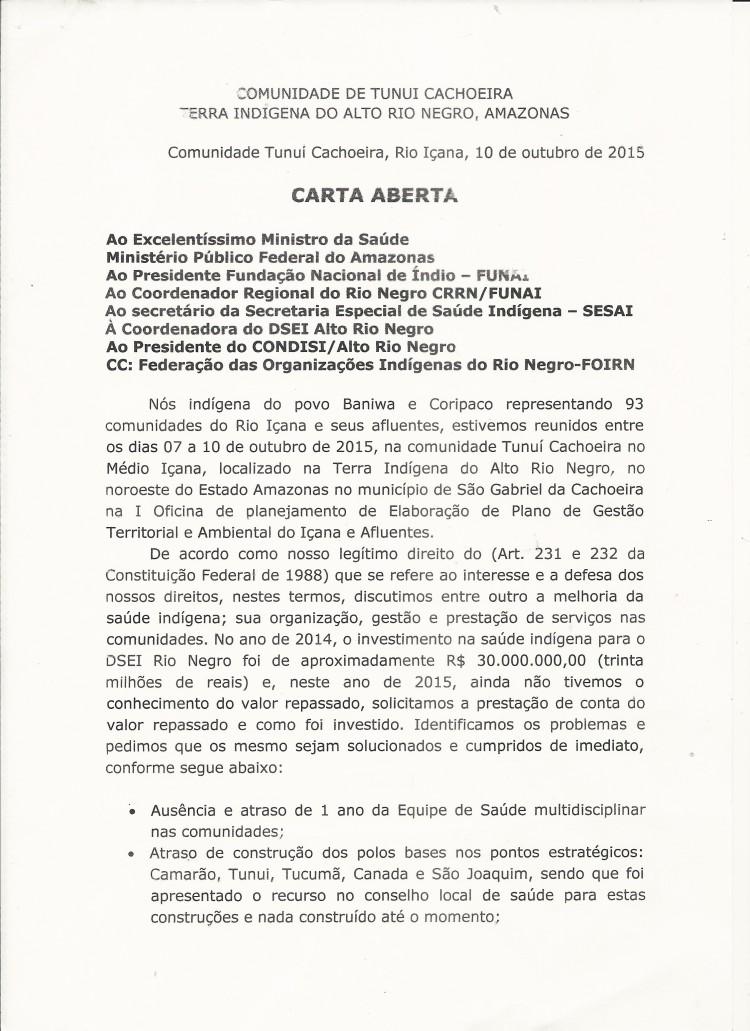 Carta Aberta- Saude Rio Negro -SGC-AM Encaminhamento -2
