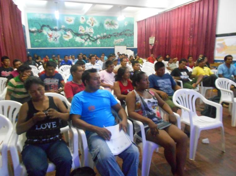 Participantes da oficina realizada em Santa Isabel do Rio Negro. Foto: Rosilda Cordeiro