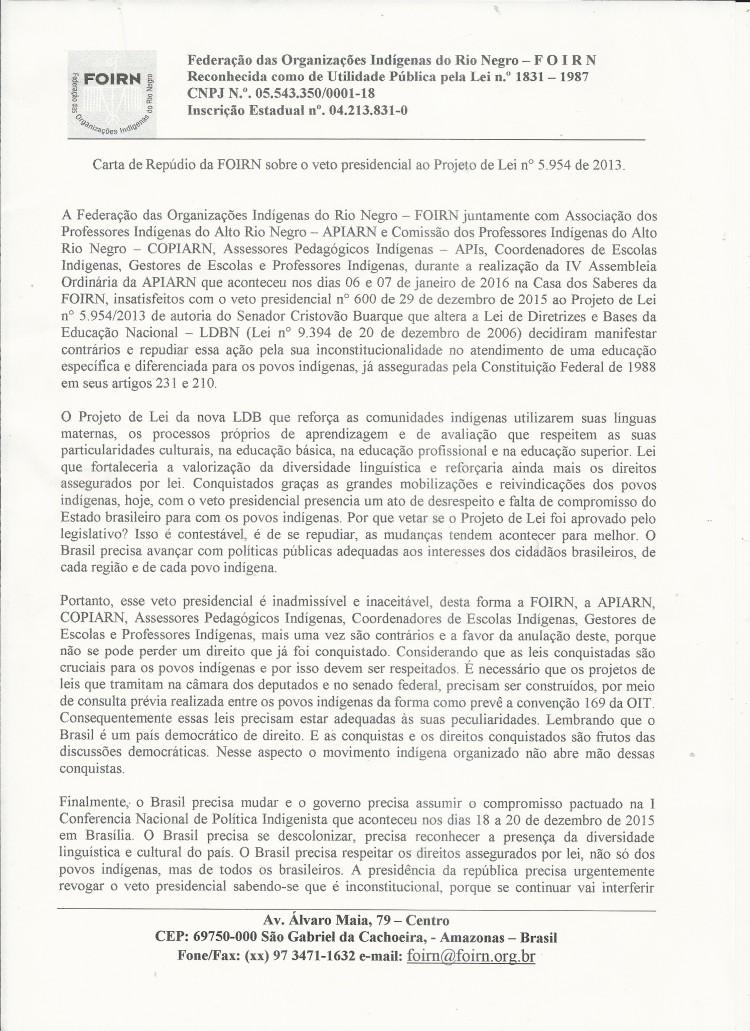 Carta de Repúdio_Veto Presidencial-1